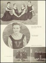 1958 Valdese High School - Francis Garrou Yearbook Page 64 & 65