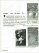 1990 Perry Meridian High School Yearbook Page 132 & 133