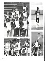 1986 Vernon High School Yearbook Page 54 & 55
