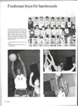 1986 Vernon High School Yearbook Page 58 & 59