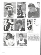 1986 Vernon High School Yearbook Page 70 & 71