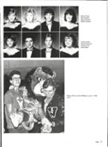1986 Vernon High School Yearbook Page 84 & 85