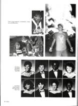 1986 Vernon High School Yearbook Page 86 & 87