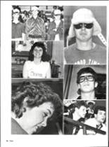 1986 Vernon High School Yearbook Page 90 & 91