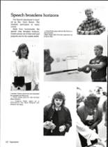 1986 Vernon High School Yearbook Page 130 & 131