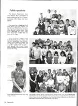 1986 Vernon High School Yearbook Page 132 & 133