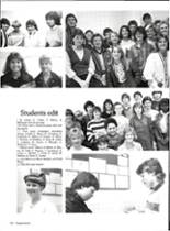 1986 Vernon High School Yearbook Page 134 & 135
