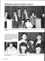 1986 Vernon High School Yearbook Page 140 & 141