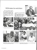 1986 Vernon High School Yearbook Page 154 & 155