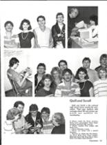 1986 Vernon High School Yearbook Page 158 & 159