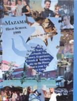 1999 Yearbook Mazama High School