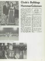 1974 Clyde High School Yearbook Page 40 & 41