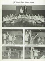 1974 Clyde High School Yearbook Page 54 & 55