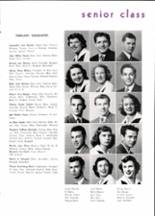 1950 Piedmont High School Yearbook Page 16 & 17