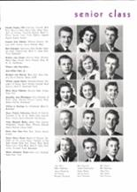 1950 Piedmont High School Yearbook Page 18 & 19