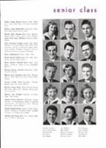 1950 Piedmont High School Yearbook Page 20 & 21