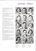 1950 Piedmont High School Yearbook Page 24 & 25