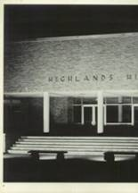 1965 Highlands High School Yearbook Page 10 & 11