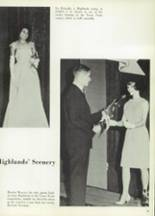 1965 Highlands High School Yearbook Page 22 & 23