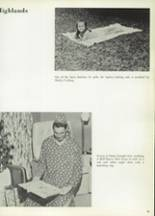 1965 Highlands High School Yearbook Page 38 & 39