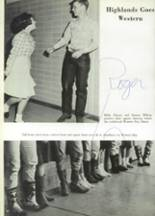 1965 Highlands High School Yearbook Page 56 & 57