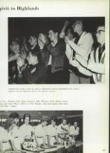 1965 Highlands High School Yearbook Page 124 & 125