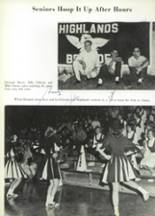 1965 Highlands High School Yearbook Page 218 & 219