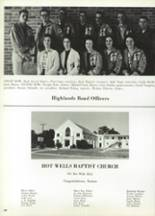 1965 Highlands High School Yearbook Page 400 & 401