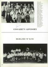 1965 Highlands High School Yearbook Page 404 & 405