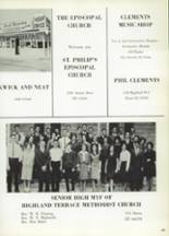 1965 Highlands High School Yearbook Page 408 & 409
