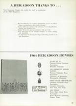 1965 Highlands High School Yearbook Page 466 & 467