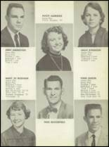 1955 Calallen High School Yearbook Page 14 & 15