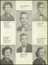 1955 Calallen High School Yearbook Page 16 & 17