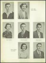 1955 Calallen High School Yearbook Page 22 & 23