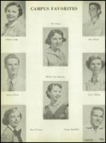 1955 Calallen High School Yearbook Page 42 & 43