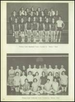 1955 Calallen High School Yearbook Page 70 & 71