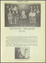 1952 Kingsford High School Yearbook Page 36 & 37