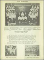 1952 Kingsford High School Yearbook Page 38 & 39