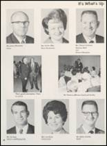 1969 Clyde High School Yearbook Page 14 & 15