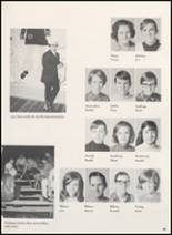 1969 Clyde High School Yearbook Page 52 & 53