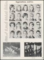1969 Clyde High School Yearbook Page 100 & 101