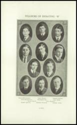 1915 Broadway High School Yearbook Page 154 & 155