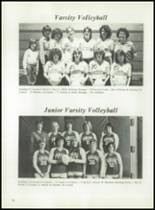 1983 Panama High School Yearbook Page 80 & 81