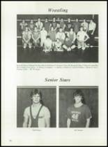 1983 Panama High School Yearbook Page 86 & 87