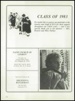 1983 Panama High School Yearbook Page 116 & 117