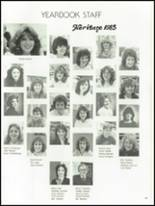 1985 Red Land High School Yearbook Page 164 & 165