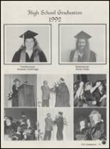 1992 Honey Grove High School Yearbook Page 22 & 23