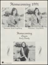 1992 Honey Grove High School Yearbook Page 46 & 47