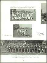 1967 Washington High School Yearbook Page 54 & 55
