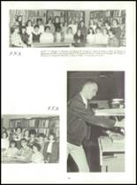 1967 Washington High School Yearbook Page 56 & 57
